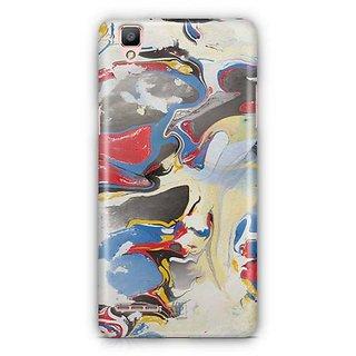 YuBingo Marble Finish (Plastic) Designer Mobile Case Back Cover for Oppo F1 / A35