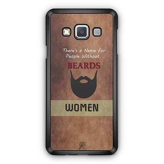 YuBingo Beard Designer Mobile Case Back Cover for Samsung Galaxy A3