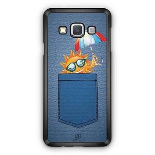 YuBingo Sun in Jeans Designer Mobile Case Back Cover for Samsung Galaxy A3