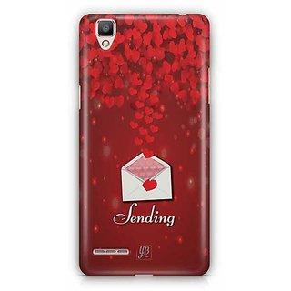 YuBingo Sending Love Designer Mobile Case Back Cover for Oppo F1 / A35