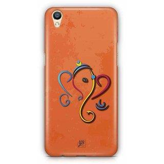 YuBingo Ganesha Designer Mobile Case Back Cover for Oppo F1 Plus / R9