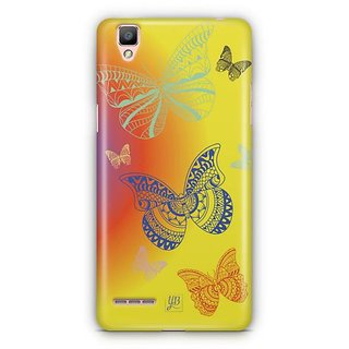 YuBingo Butterflies Designer Mobile Case Back Cover for Oppo F1 / A35