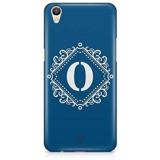 YuBingo Monogram with Beautifully Written letter O Designer Mobile Case Back Cover for Oppo F1 Plus / R9