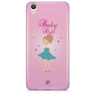 YuBingo Baby Doll Designer Mobile Case Back Cover for Oppo F1 Plus / R9