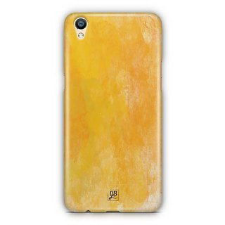 YuBingo Funky Yellow Designer Mobile Case Back Cover for Oppo F1 Plus / R9