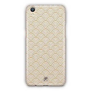 YuBingo Semi Circle Pattern Designer Mobile Case Back Cover for Oppo F1 Plus / R9