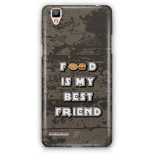 YuBingo Food is my Best Friend Designer Mobile Case Back Cover for Oppo F1 / A35