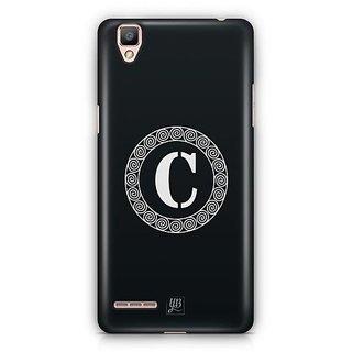 YuBingo Monogram with Beautifully Written letter C Designer Mobile Case Back Cover for Oppo F1 / A35
