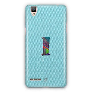 YuBingo Monogram with Beautifully Written Paint Finish letter I Designer Mobile Case Back Cover for Oppo F1 / A35