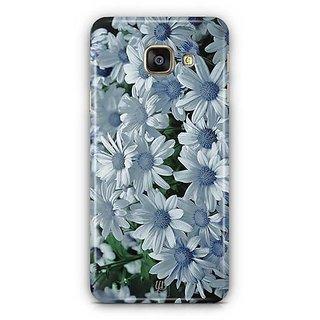 YuBingo White flowers Designer Mobile Case Back Cover for Samsung Galaxy A3 2016