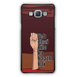 YuBingo Ye Dhai Kilo Ka Haath Hai Designer Mobile Case Back Cover for Samsung Galaxy A5