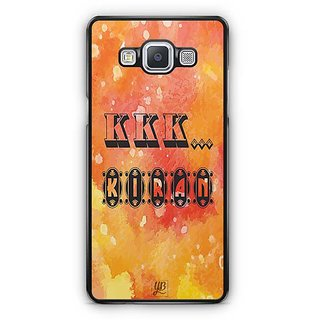 YuBingo  K . K. K. Kiran Designer Mobile Case Back Cover for Samsung Galaxy A5