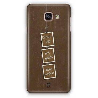 YuBingo Dream Big, Set Goals, Take Action Designer Mobile Case Back Cover for Samsung Galaxy A5 2016