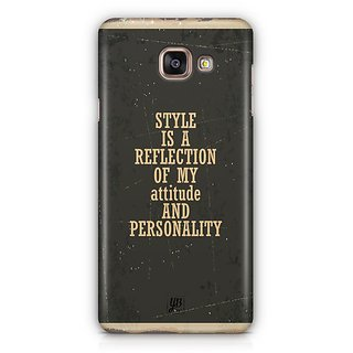 YuBingo Style is Reflection Designer Mobile Case Back Cover for Samsung Galaxy A5 2016