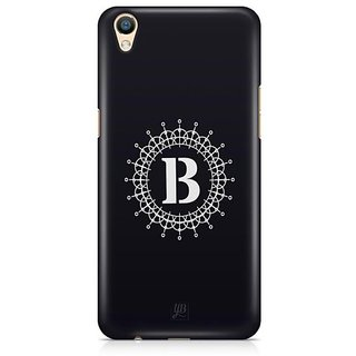 YuBingo Monogram with Beautifully Written letter B Designer Mobile Case Back Cover for Oppo F1 Plus / R9