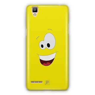 YuBingo Amazed Smiley Designer Mobile Case Back Cover for Oppo F1 / A35