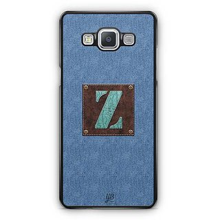 YuBingo Monogram with Beautifully Written Jeans and Macho Male Leather Finish letter Z Designer Mobile Case Back Cover for Samsung Galaxy A5