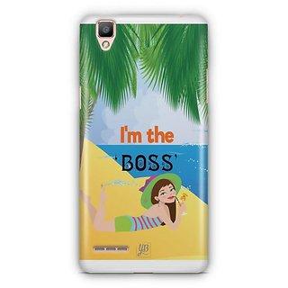 YuBingo I'm the Boss Designer Mobile Case Back Cover for Oppo F1 / A35