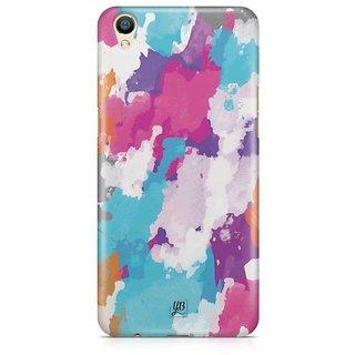 YuBingo Colourful Canvas Designer Mobile Case Back Cover for Oppo F1 Plus / R9