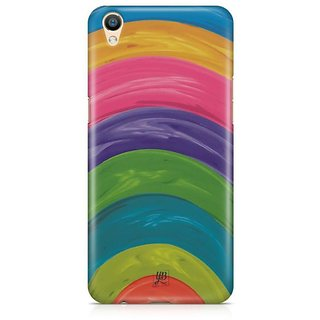 YuBingo Colourful Circles Designer Mobile Case Back Cover for Oppo F1 Plus / R9