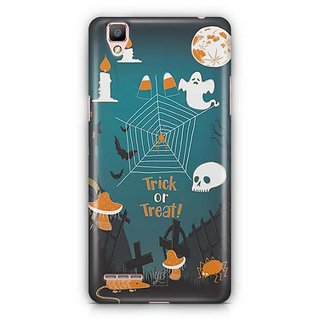 YuBingo Trick or treat Designer Mobile Case Back Cover for Oppo F1 / A35