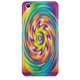 YuBingo Colourful Circular Pattern Designer Mobile Case Back Cover for Oppo F1 Plus / R9