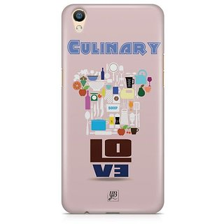 YuBingo Culinary Love Designer Mobile Case Back Cover for Oppo F1 Plus / R9