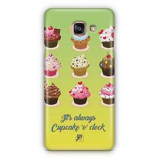 YuBingo Cupcake 'O' Clock Designer Mobile Case Back Cover for Samsung Galaxy A5 2016