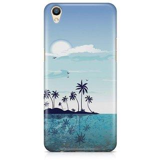 YuBingo Beach and Sky Designer Mobile Case Back Cover for Oppo F1 Plus / R9