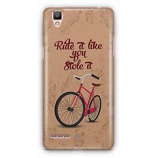 YuBingo Ride it like if you Stole It Designer Mobile Case Back Cover for Oppo F1 / A35