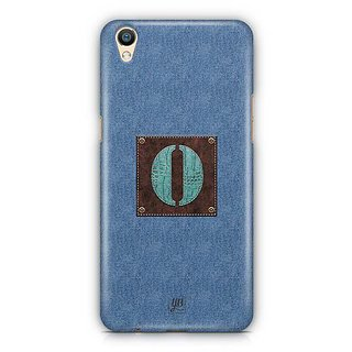 YuBingo Monogram with Beautifully Written Jeans and Macho Male Leather Finish letter O Designer Mobile Case Back Cover for Oppo F1 Plus / R9