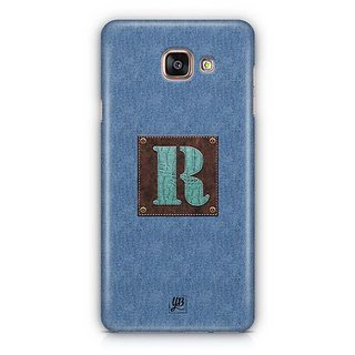 YuBingo Monogram with Beautifully Written Jeans and Macho Male Leather Finish letter R Designer Mobile Case Back Cover for Samsung Galaxy A5 2016