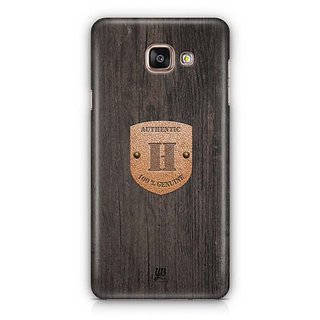 YuBingo Monogram with Beautifully Written Wooden and Metal (Plastic) Finish letter H Designer Mobile Case Back Cover for Samsung Galaxy A5 2016