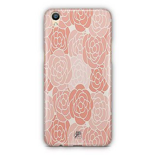 YuBingo Rose pattern Designer Mobile Case Back Cover for Oppo F1 Plus / R9