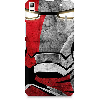 CopyCatz Red Soldier Premium Printed Case For Lenovo A7000