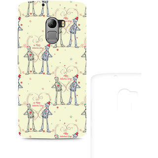 CopyCatz Robots with a Heart Premium Printed Case For Lenovo K4 Note