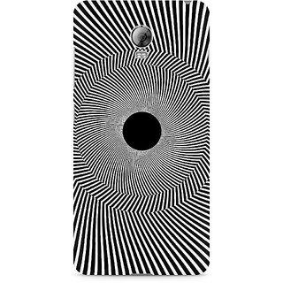 CopyCatz Black Hole Illusion Premium Printed Case For Lenovo Vibe P1