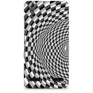 CopyCatz Illusion Checks Premium Printed Case For Lenovo A6000
