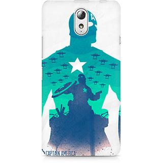 CopyCatz Captain America Minimalist Premium Printed Case For Lenovo Vibe P1M