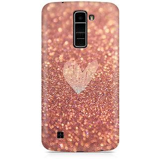 CopyCatz Rose Gold Sparkle Premium Printed Case For LG K7