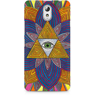 CopyCatz The Eye Premium Printed Case For Lenovo Vibe P1M