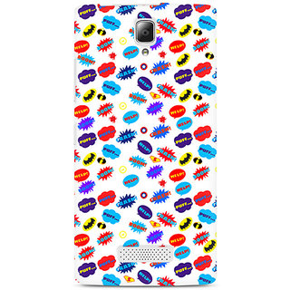 CopyCatz All Superheroes on white clipart Premium Printed Case For Lenovo A2010