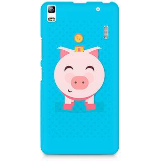 CopyCatz Pig Money Premium Printed Case For Lenovo A7000