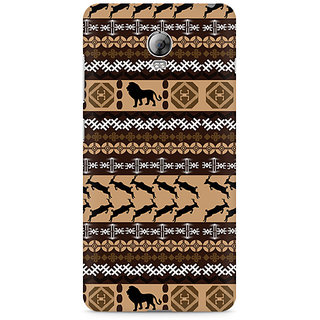 CopyCatz Tribal Lion Premium Printed Case For Lenovo Vibe P1