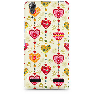 CopyCatz Hearts Premium Printed Case For Lenovo A6000