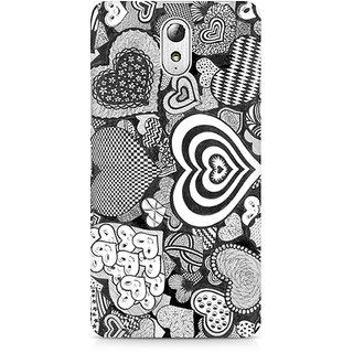 CopyCatz Heart Doodle Premium Printed Case For Lenovo Vibe P1M