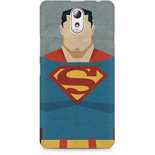CopyCatz Superman Minimalist Premium Printed Case For Lenovo Vibe P1M