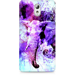 CopyCatz Watercolor Elephant Premium Printed Case For Lenovo Vibe P1M