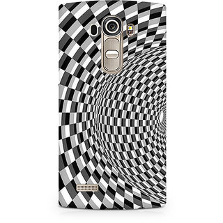 CopyCatz Illusion Checks Premium Printed Case For LG G4