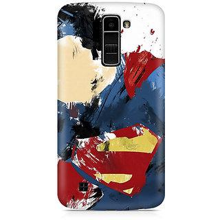 CopyCatz Superman Abstract Premium Printed Case For LG K7